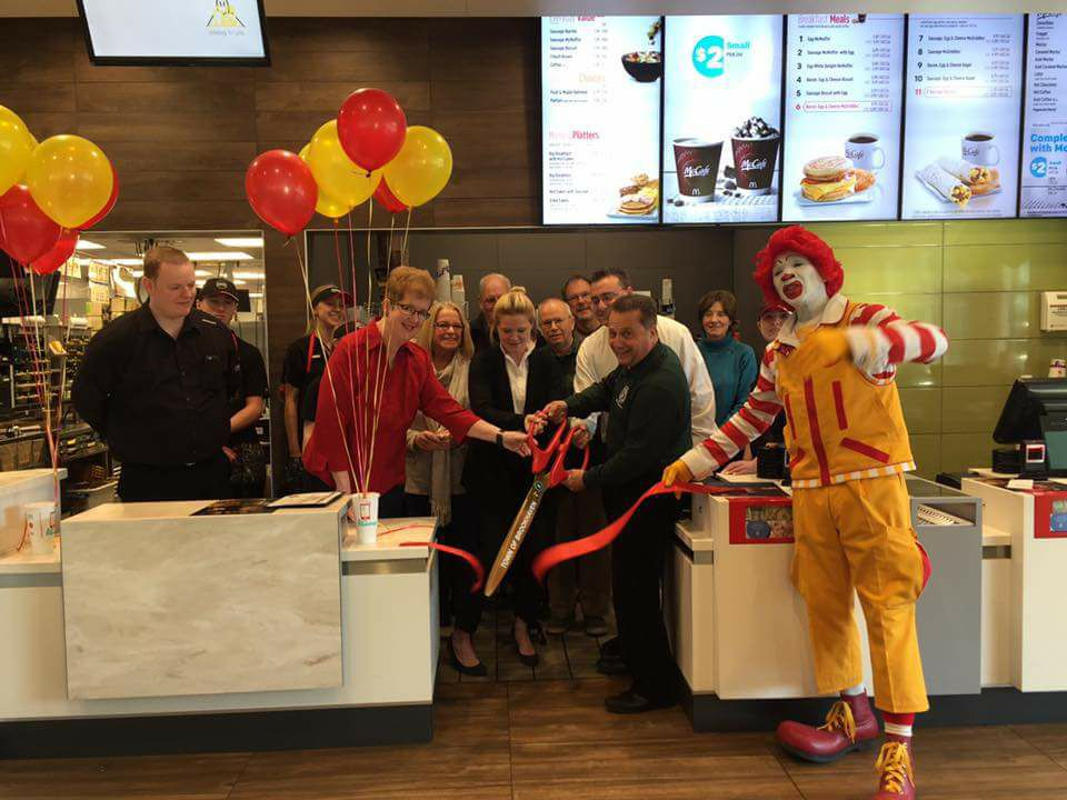 McDonalds Ribbon Cutting
