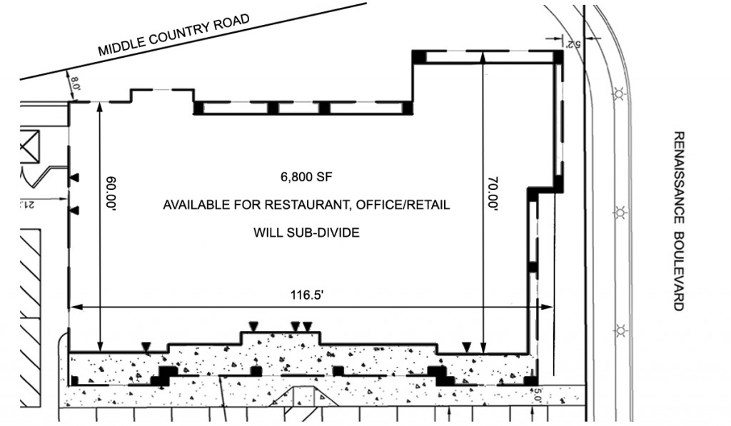 Proposed restaurant building