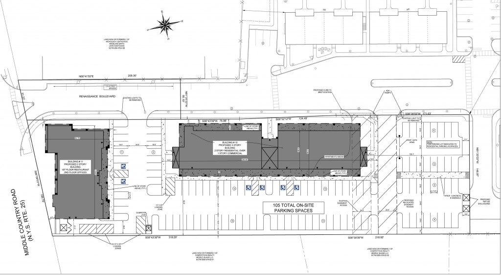 Revised site plan