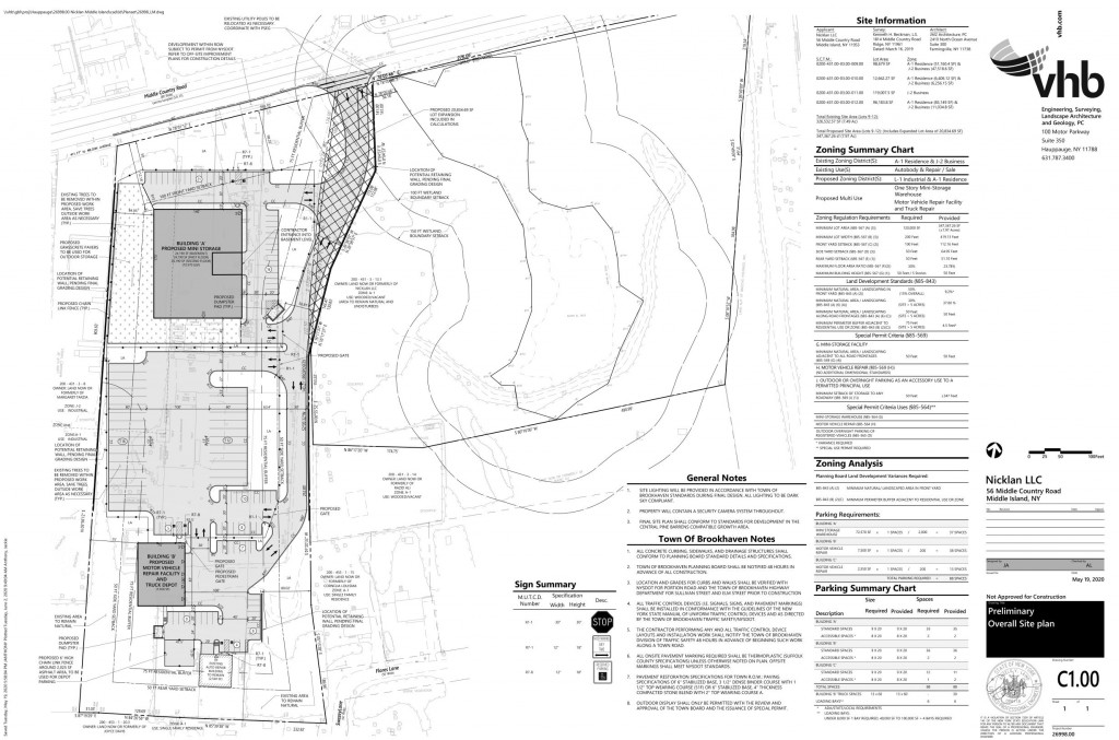 NEW Nicklan Site Plan 5